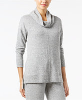 Alfani Brushed Cowl-Neck Pajama Top, Only at Macy's