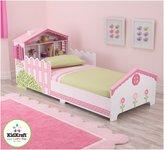 Kid Kraft Dollhouse Toddler Bed - Pink
