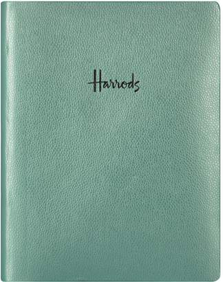 Harrods Metallic Logo Notebook
