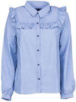 A.P.C. Frill Hem Shirt