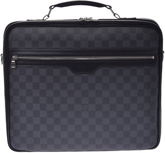 Louis Vuitton Damier Graphite Canvas Graffit Steve Briefcase