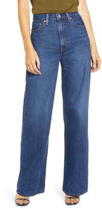 Levi's Ribcage Super High Waist Wide Leg Jeans