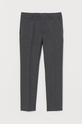 H&M Textured suit trousers