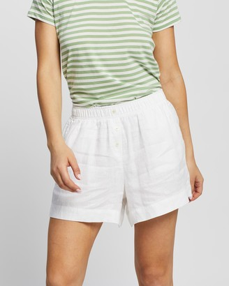Nude Lucy Nude Linen Lounge Shorts