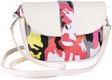 Tenworld Fashion Women Girl Camouflage Color Edge Messenger Shoulder Handbag