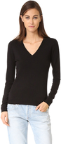 525 America Low V Neck Sweater