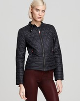Hunter Quilted Moto Jacket
