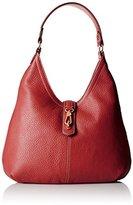 Tignanello Cargo Pebble Leather Hobo