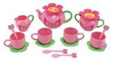 Melissa & Doug Sunny Patch Bella Butterfly Tea Set (17 pcs) - Play Food Accessories