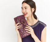 Oasis Brocade Bow Clutch