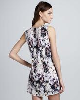 Theyskens' Theory Dorchid Sleeveless Slit-Side Dress