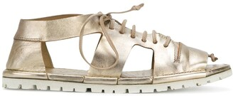 Marsèll Cut Out Lace-Up Sandals