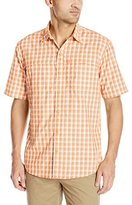 G.H. Bass Men's Short Sleeve Explorer Fancy Shirt