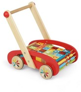 Janod Toddler Abc Wooden Block Buggy