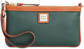 Dooney & Bourke Pebble Large Slim Wristlet