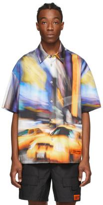 Heron Preston Multicolor Taxi Baseball Shirt