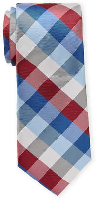 Tommy Hilfiger Multi Color Check Tie