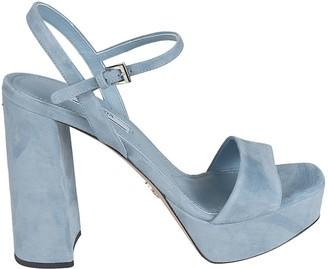 Prada Block-heel Buckled Sandals