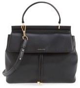 Louise et Cie 'Towa' Leather Top Handle Satchel - Black