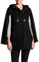 BCBGeneration Wool Blend Toggle Cape