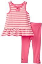 Kate Spade Stripe Tank & Legging Set (Baby Girls)