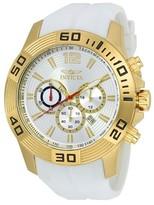 Invicta Men's 20298 Pro Diver Quartz Silver Dial Strap Watch - Gold