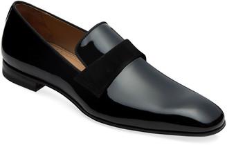 Paul Stuart Men's Heron Patent Leather Loafers