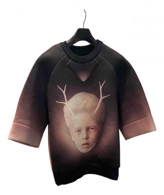 Juun.J Black Polyester T-shirts