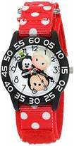 Disney Girl's 'Mickey Mouse' Quartz Plastic and Nylon Watch