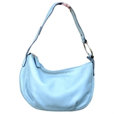 Max Mara Turquoise Leather Handbag