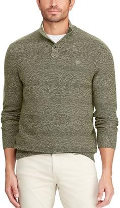 Chaps Big & Tall Classic-Fit Crewneck Sweater