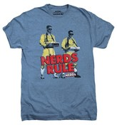 20th Century Fox Men's Nerds Rule T-Shirt Blue