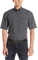 Wrangler Men's George Strait Collection Two-Pocket Short-Sleeve Shirt