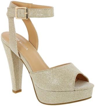 Top Moda Bonica Platform Heeled Sandal