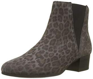 Gabor Shoes Women's Comfort Sport Wide Fit Ankle Boots, Grey (Anthrazit (Micro) 60)