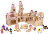 Melissa & Doug Folding 19-Piece PrincessCastle Set