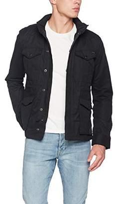 Scotch & Soda Men's Ams Blauw 4 Pocket Military Jacket Jacket