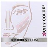 1pc City Color Contour & Define - Contour, Bronzer, Blush, Highlight #F0038