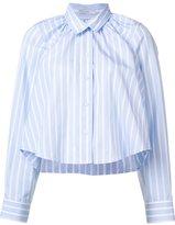 Tome striped cropped shirt - women - Cotton - M