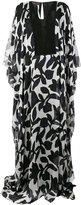Talbot Runhof Nolande dress - women - Silk/Spandex/Elastane - 34