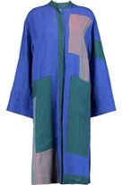 Acne Studios Paneled Linen Midi Dress