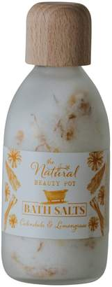 The Natural Beauty Pot Calendula & Lemongrass Bath Salts