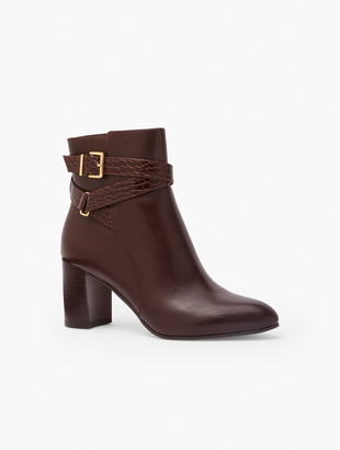 Talbots Simone Vachetta Ankle Boots