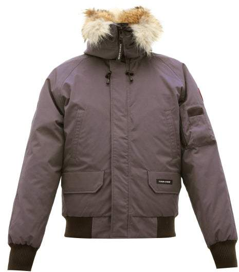 385caff471e Chilliwack Down Filled Hooded Coat - Mens - Grey