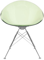 Kartell Ero S Chair Four Legged - Light Green