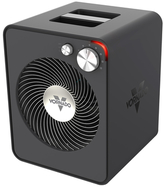 Vornado VMH300 Whole Room Metal Heater with 2 Heat Settings and Adjustable Thermostat, Storm Gray