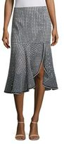 Nanette Lepore Surfside Geometric Print Skirt