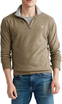 Polo Ralph Lauren Luxury Cotton-Blend Jersey Pullover Sweatshirt