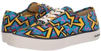 SeaVees Legend Sneaker Hoffman (Blue Neon Confetti) Men's Shoes