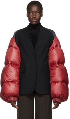 Undercover Red Down Quilted Sleeves
